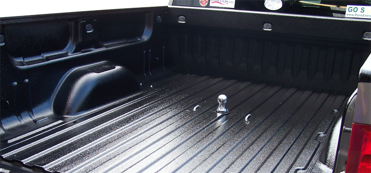 Grab one of our truck accessories just like this Armadillo bedliner.