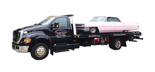 For great 24-hour towing services, get in contact with Complete Collision.