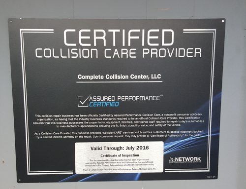 Find Network Certified Nissan Collision Repair in Zachary
