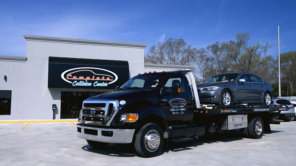 Concerned about insurance when you're getting your car towed? Our Baton Rouge auto shop is here to help.