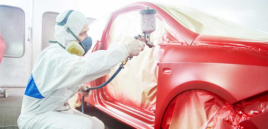 Baton rouge vehicle painting service