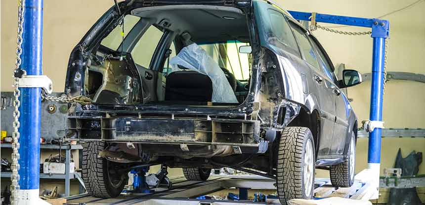 baton rouge vehicle frame straightening service